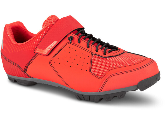 Cube MTB Peak Shoes Unisex red